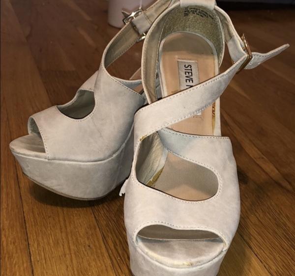 Tan Designer Heels