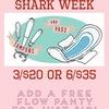 Shark Week Pads/Tampons/Panty