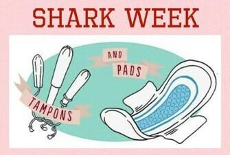 Shark Week Items (RED)