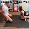Girl Dominates Man Wrestling