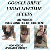 Google Drive Video Lifetime Access 250+ minutes
