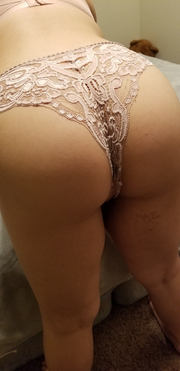 Skin Toned See Through Lace