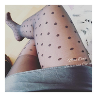 Polkadot pantyhose / tights