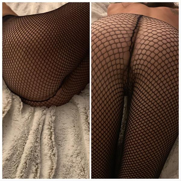 Classic Black Fishnet Stockings