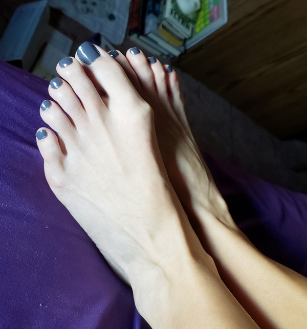 Toenails from these size 5.5 cuties.