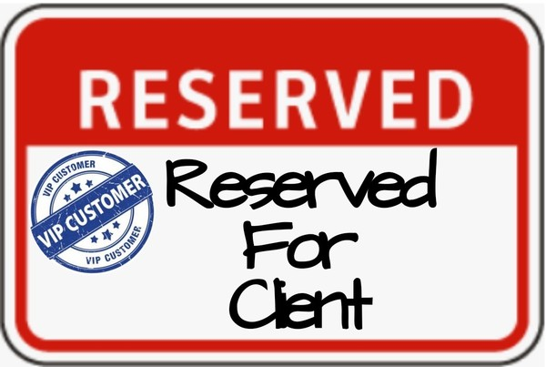 Reserved for client Dom v