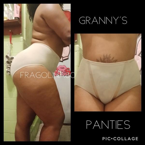 Worn Granny's panties
