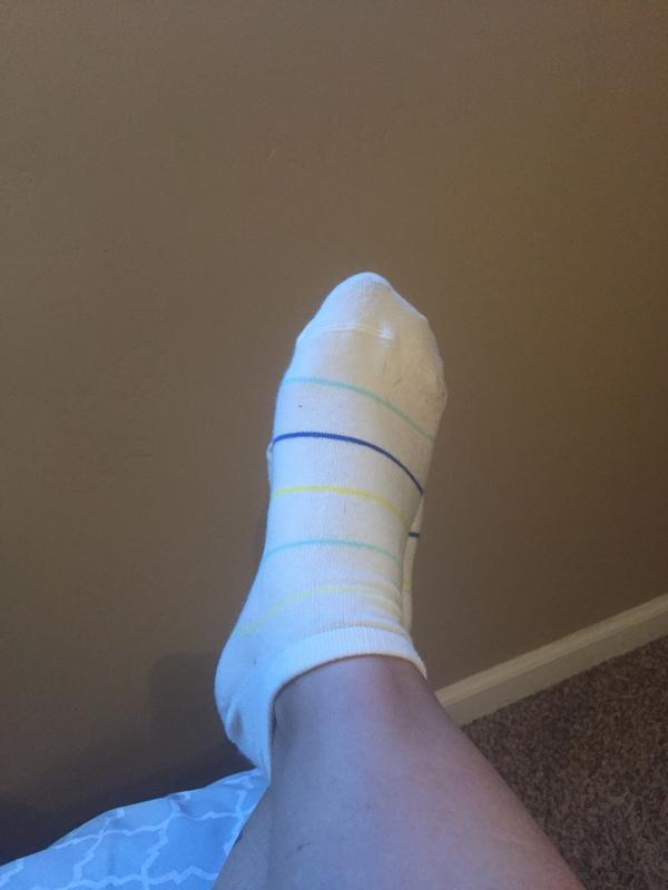 Cute but stinky socks