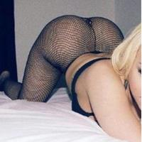 Black Musky Fish Net Spandex Stockings 3 day wear