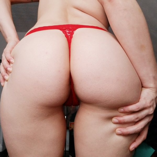 Red HOT Thong