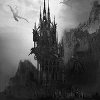 Gothic castle by marinaortega d7i3ugv