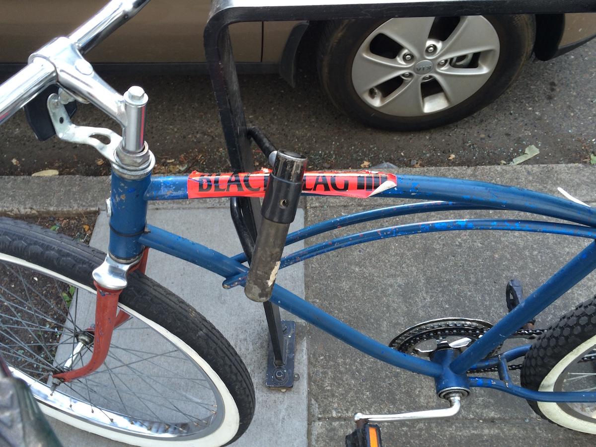 Black Flag bicycle