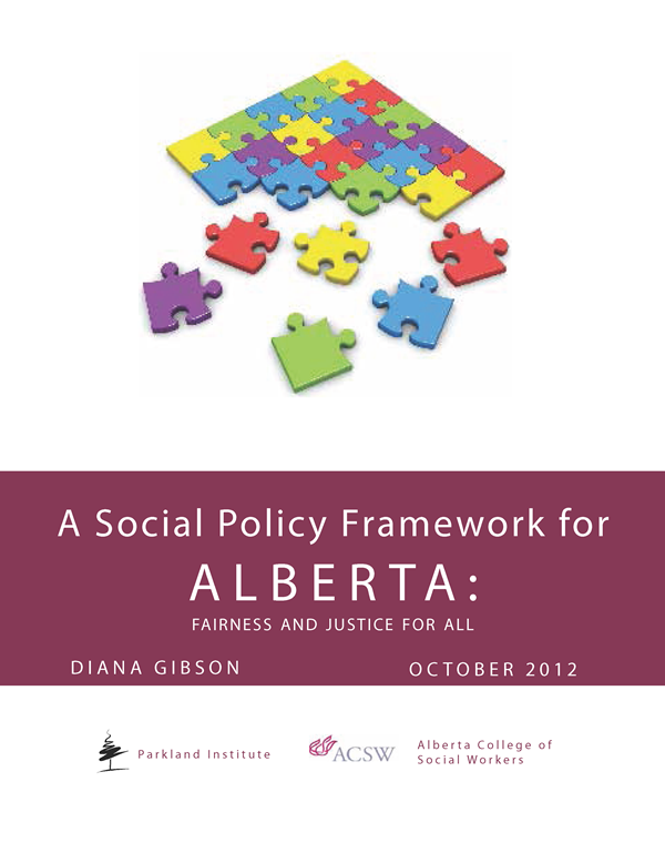 A Social Policy Framework for Alberta