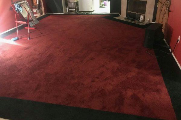 Custom Border Carpet Work in Victorville, California
