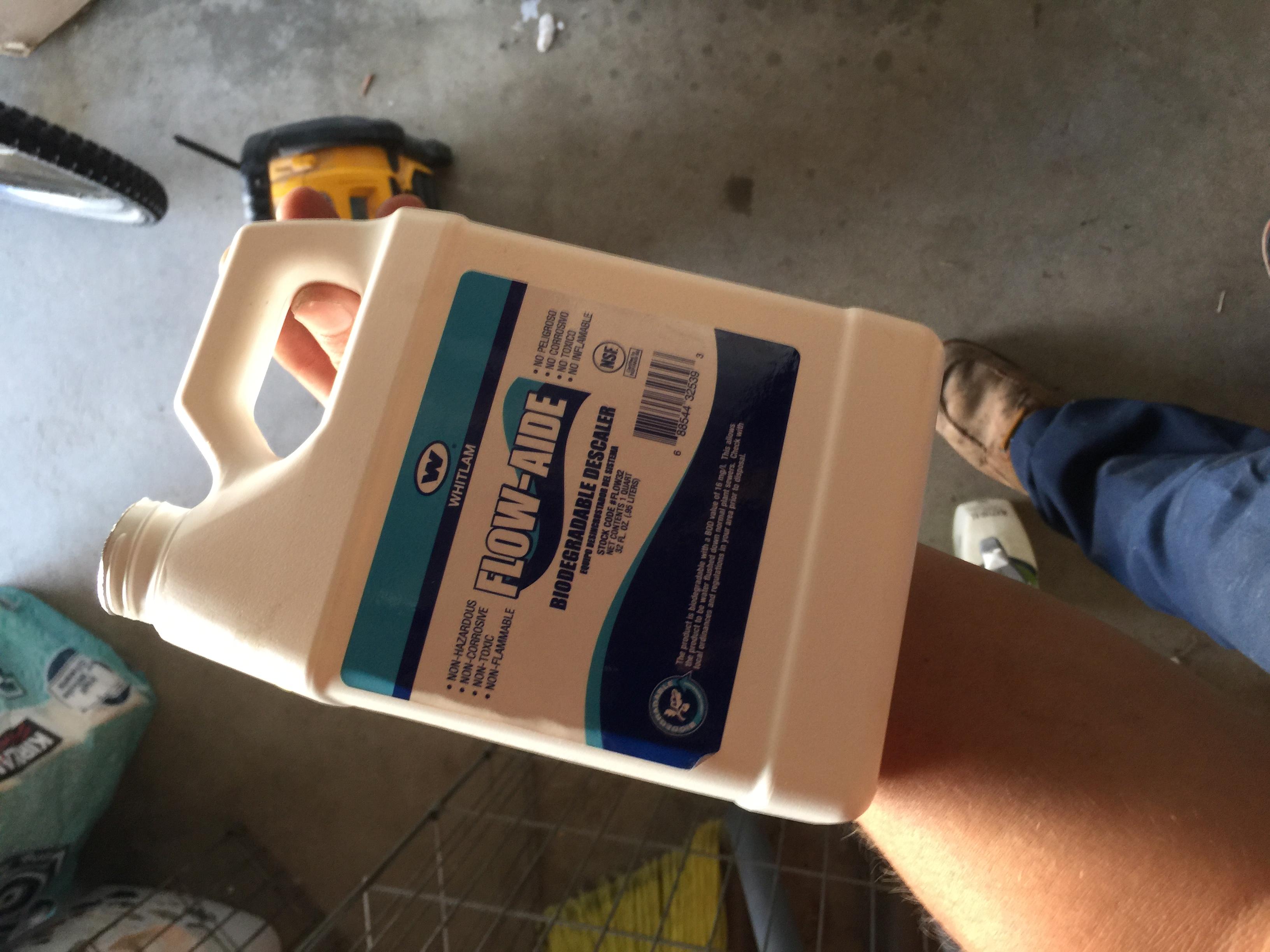 Tankless Water Heater Descale In Chula Vista California