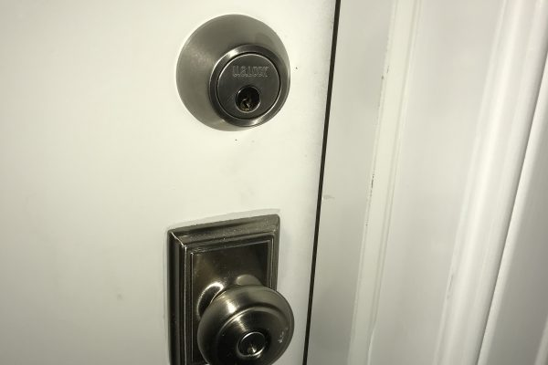 Deadbolt Installation in Brookline, Massachusetts