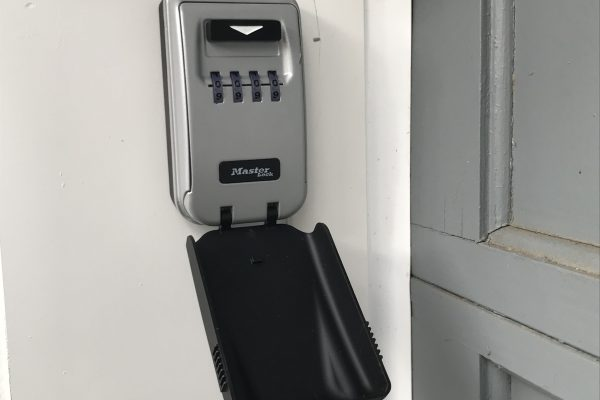 Lock Box Installation in Boston, Massachusetts