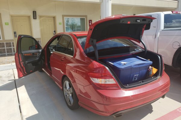 2012 Mercedes C300 Trunk Lockout in Missouri City, Texas