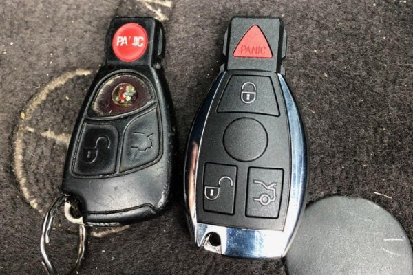 New Car Key Made For Mercedes e320 Houston, Texas