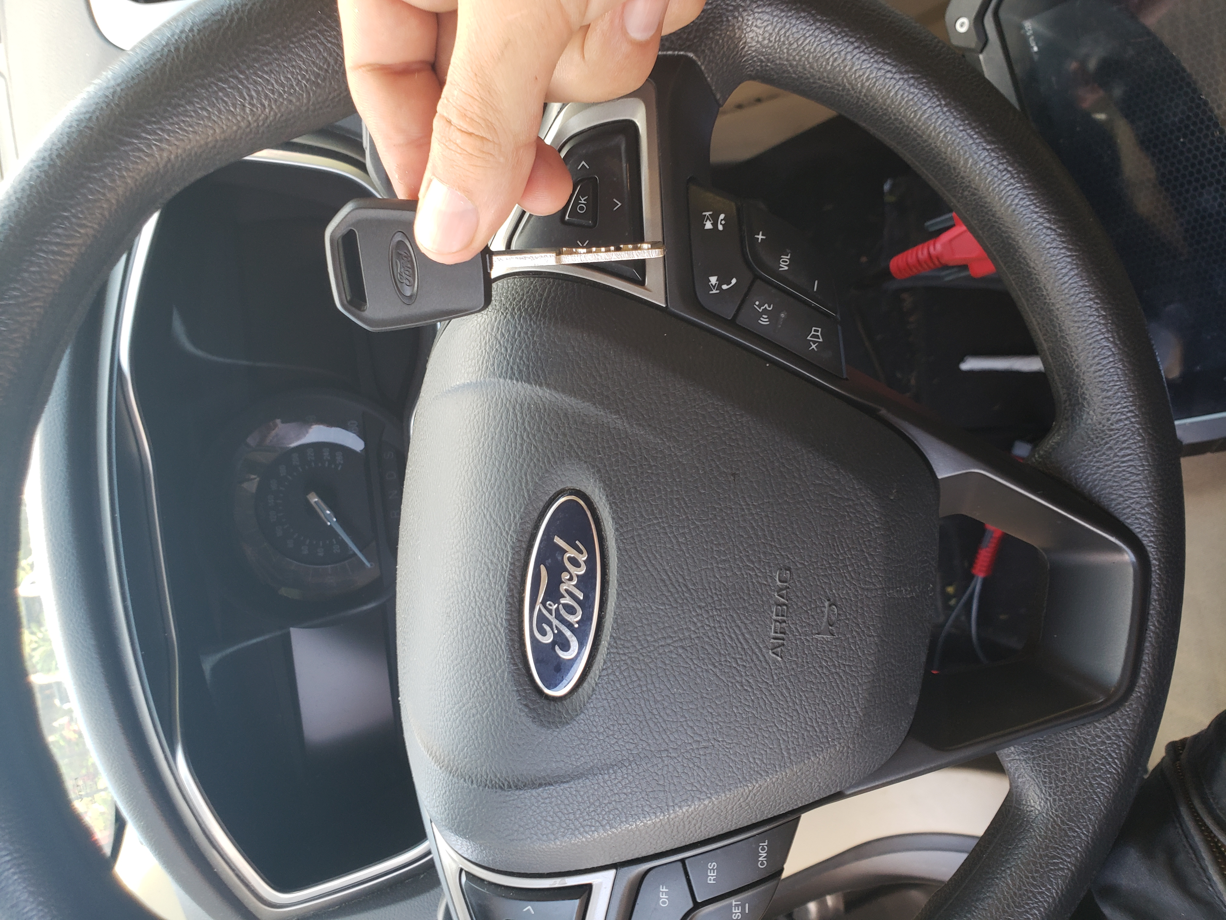 2014 Ford Fusion Car Key Replacement Houston Texas Sky Lock