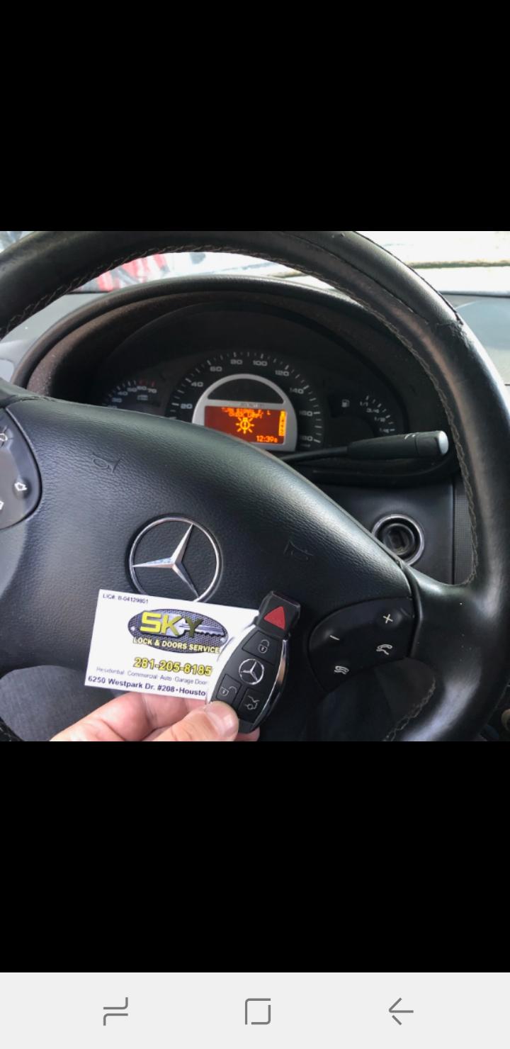 Mercedes Benz Sugarland Service >> Mercedes Benz Key Replacement Sugar Land Texas Sky Lock