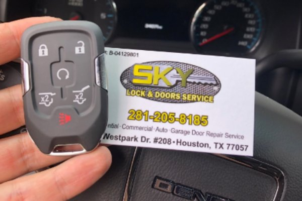 GMC Yukon Smart Key Made Cypress, Texas