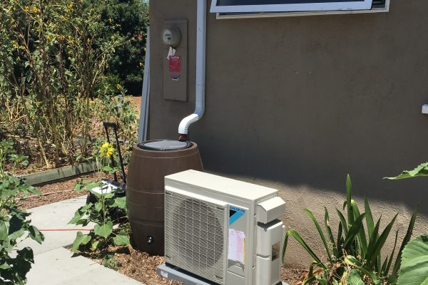 Residential Ductless Mini Split Installation
