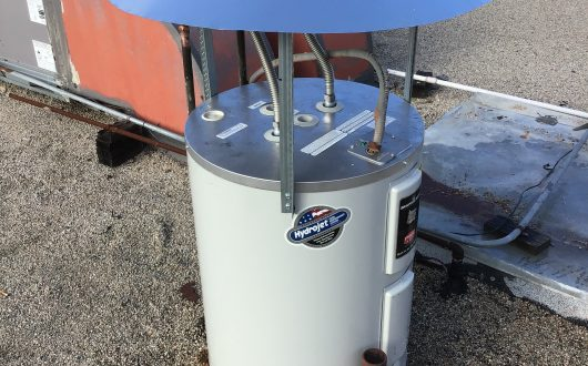 30 Gallon Rooftop Water Heater Replacement - Solana Beach, CA