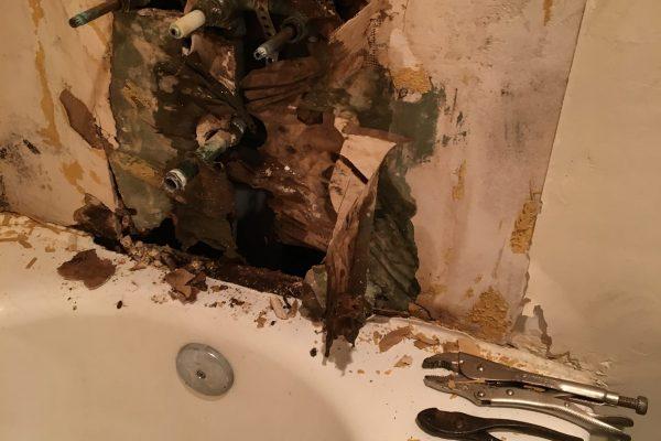 Bathtub Install in San Diego California