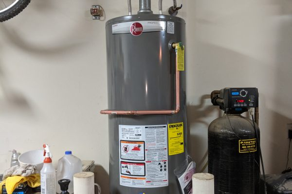 50 Gallon Gas Rheem Water Heater Installation in Chandler, Arizona
