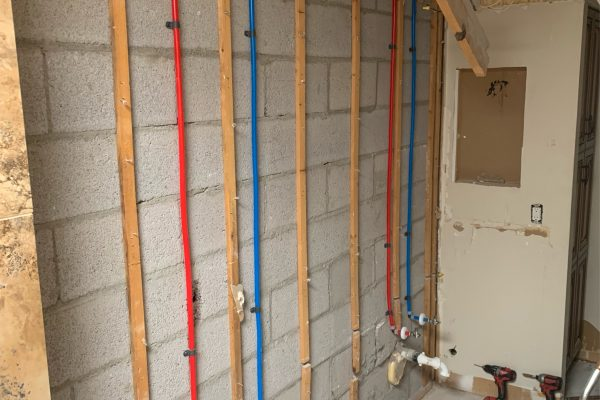 Bathroom Re-Pipe in Chandler, Arizona