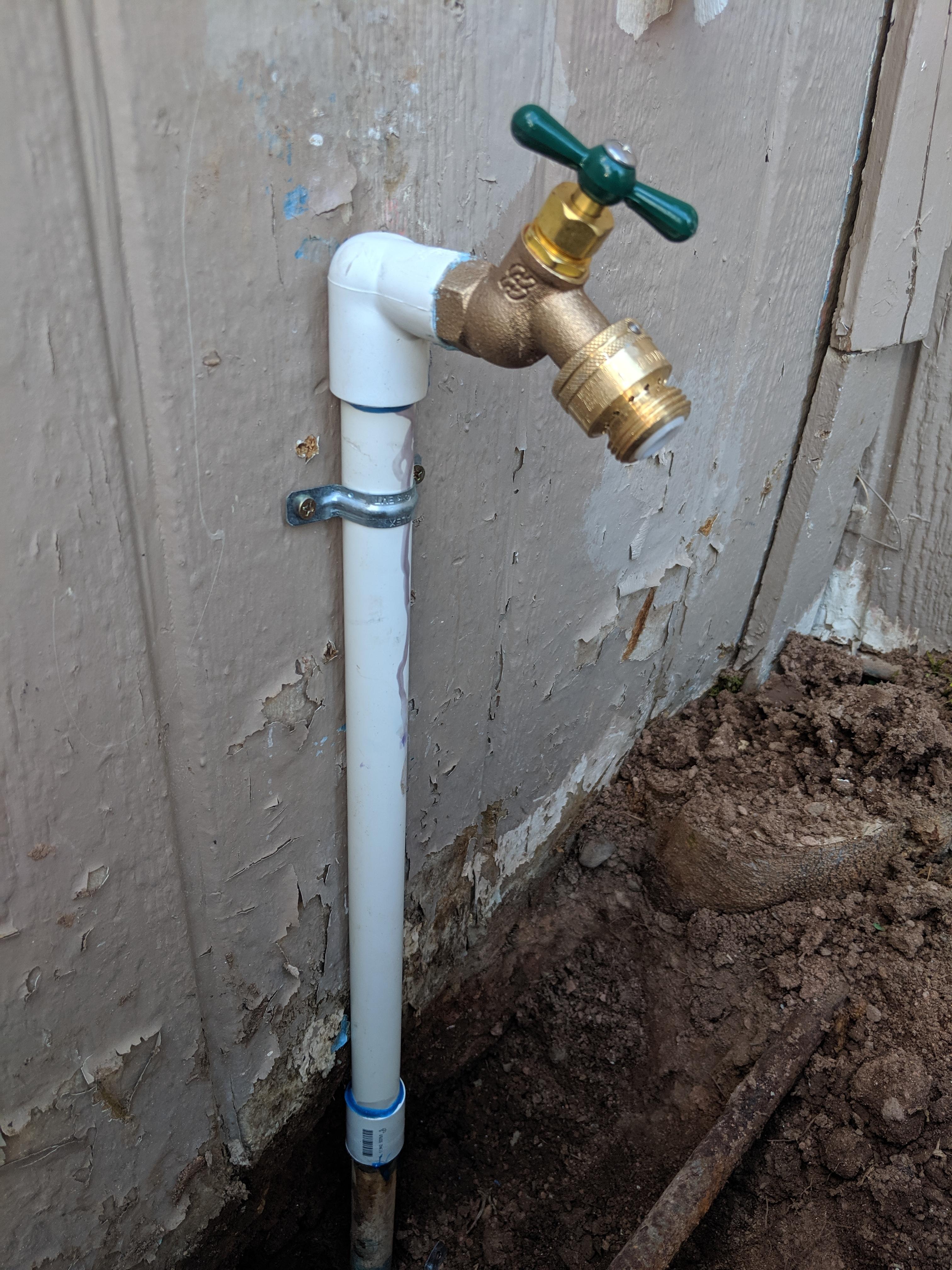 Hose Bib Installation In Chandler Arizona Asap Plumbing
