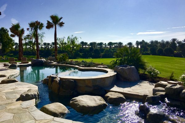 Boulder Pool and Spa Construction In La Quinta, California