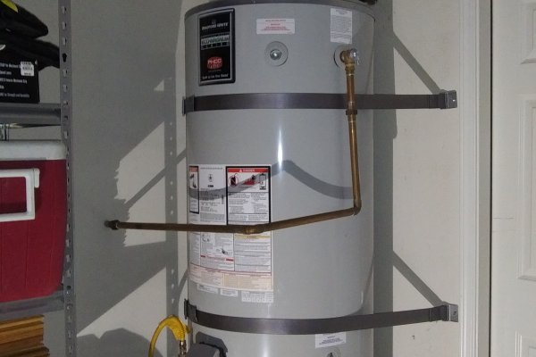 75 Gallon Water Heater Replacement, Menifee, California