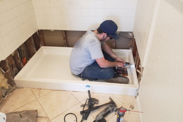 Shower Pan Replacement Temecula, California