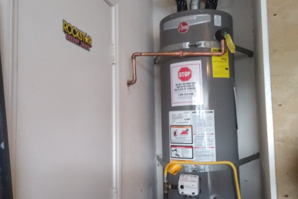 50 Gallon Water Heater Installation Lake Elsinore, California