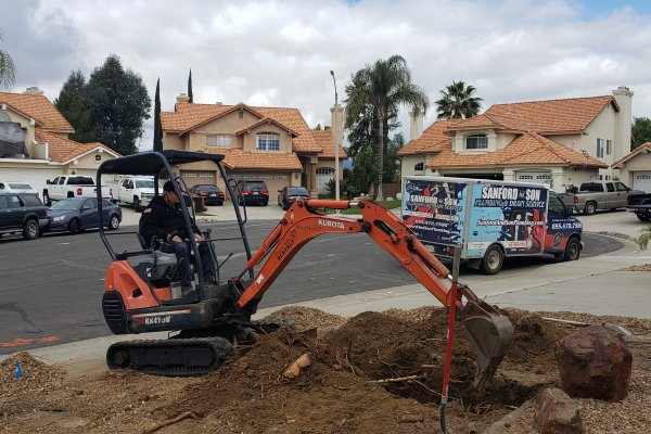Sewer Repair in Murrieta, California