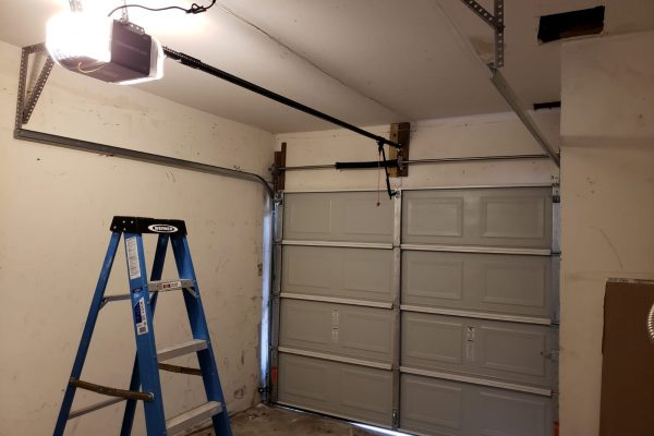 New Garage Door and Opener Installed Houston, Texas