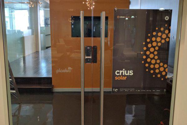 Keyless Lock Glass Door Toronto