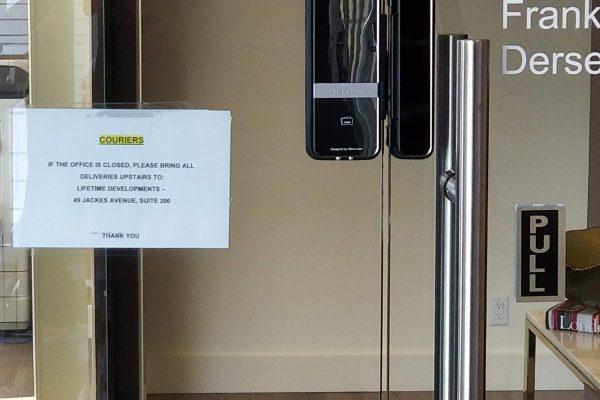 Glass Door Key-less Lock Mississauga