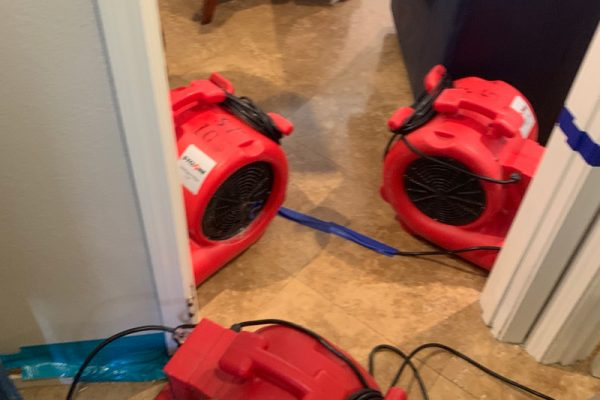 Water Damage in Laguna Niguel, California