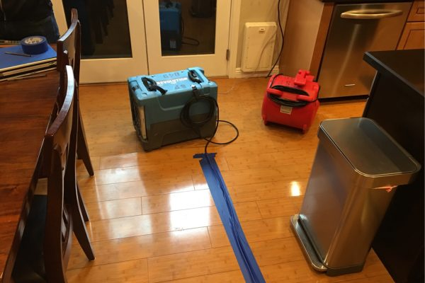 Water Damage in Rancho Santa Margarita, California
