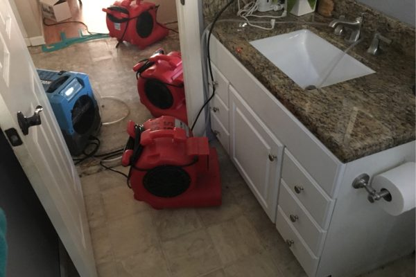 Water Damage Restoration Mission Viejo, California