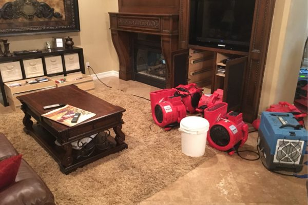 Water Damage in Ladera Ranch, California