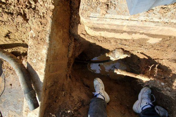 Water Main Repair in Palmdale, California