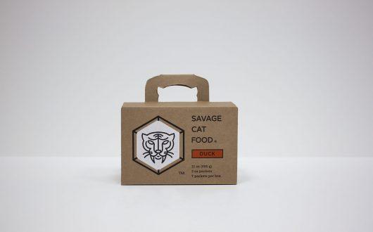 Savage Cat Food | Custom Corrugated Boxes