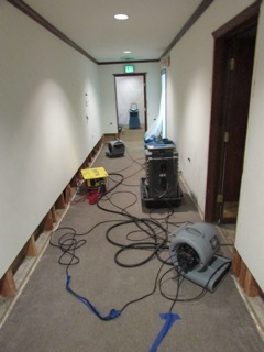 Emergency Water Damage - Commercial Building, West Hills