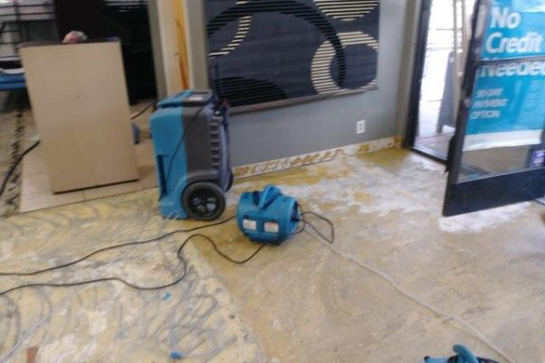 Furniture Store Water Damage,North Hollywood,California