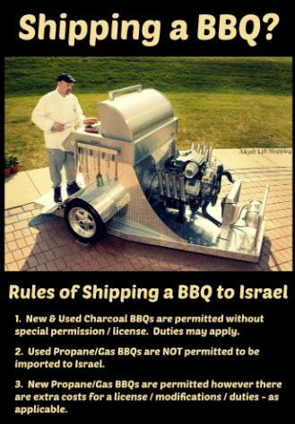 Shipping a BBQ?