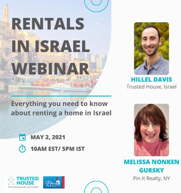 Rentals in Israel Webinar